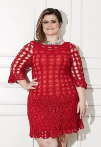 Crochet Dress Plus Size