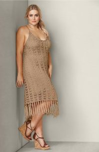 Crochet Plus Size Dress