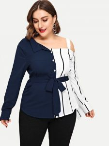 Fancy Plus Size Dressy Top