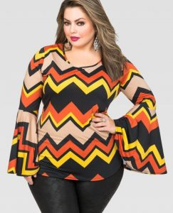 Fancy Tops For Plus Size