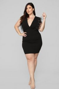Plus Size Black Night Out Dresses