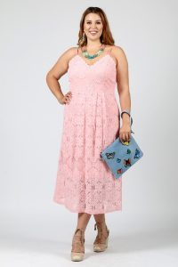 Plus Size Crochet Dress
