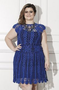 Plus Size Crochet Dresses