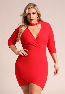 Plus Size Night Out Bodycon Dress
