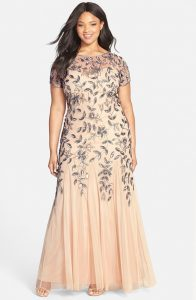 Sequin Bridesmaid Dress Plus Size