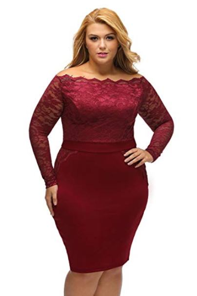 Plus Size Bodycon Bandage Dress | Attire Plus Size