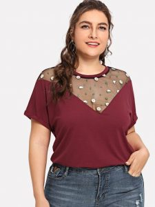 Women's Plus Size Short Sleeve Tops