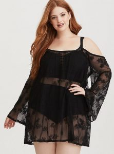Women's Plus Size Swim Cover Ups