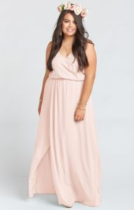 Blush Maxi Dress Plus Size