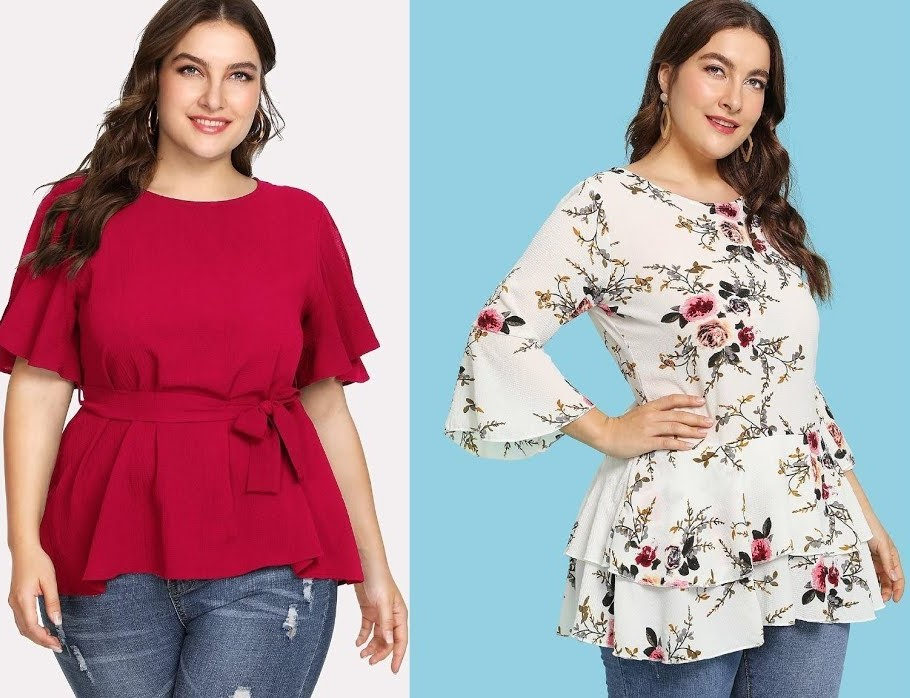 Fancy Plus Size Tops for Women