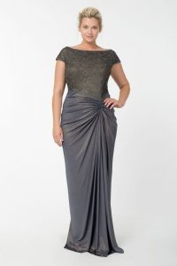 Gray Formal Party Dresses