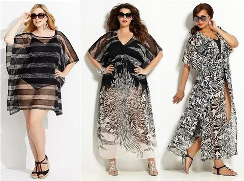 Plus Size Swim Cover Ups