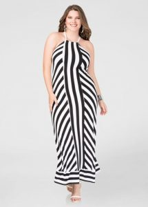 Plus Size T-shirt Maxi Dress