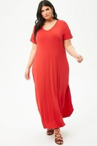Plus Size T-shirt Maxi Dresses