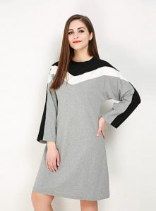 Plus Sized Cotton T shirt Dress
