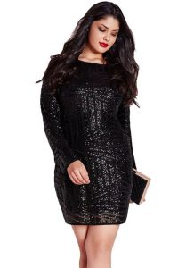 Sequin Shift Party Dress
