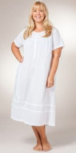 Short Sleeve Cotton Nightgowns