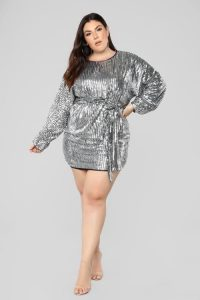 Silver Prom Dresses Plus Size