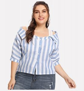Summer Plus Size Shirts