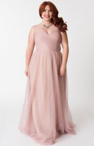 Women's Blush Maxi Dress