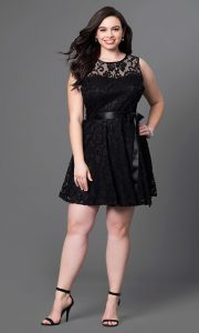 Black Plus Size Dresses Under 100
