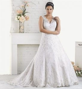 Cheap Plus Size Wedding Dresses Under 50
