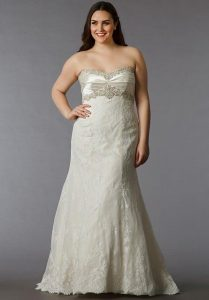Empire Waist Wedding Gowns In XL
