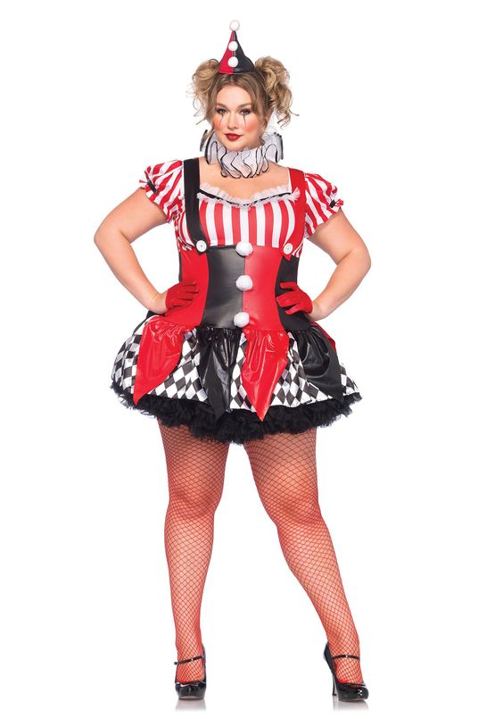 Plus Size Harley Quinn Costume | Attire Plus Size