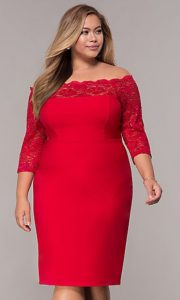 Plus Size Dresses For Christmas Under 100