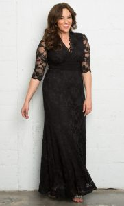 Plus Size Party Gown