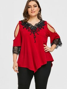 Plus Size Party Tops