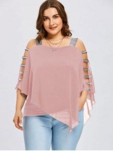 Plus Sized Flowy Tops
