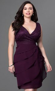 Plus Sized Party Dresses for Women
