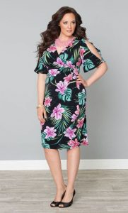 Tropical Plus Size Dresses