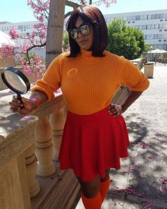 Velma from Scooby Dooby Plus Size Costume