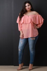 Women's Plus Size Flowy Tops