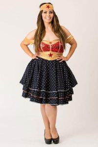 Plus Size Wonder Woman Halloween Costumes