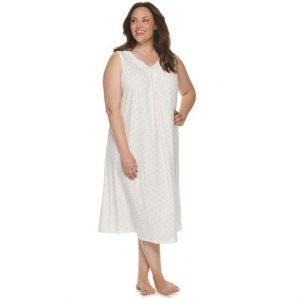 100 Cotton Nightgowns Plus Size