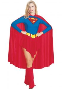 Fancy Dress Supergirl Costume