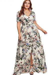 Flowy Plus Size Dress