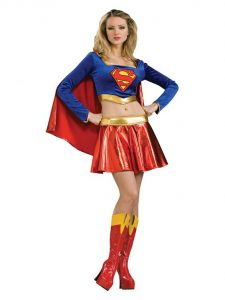 Halloween Supergirl Costume