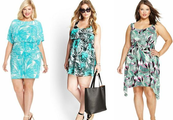 Gorgeous Plus Size Tropical Dresses | Attire Plus Size