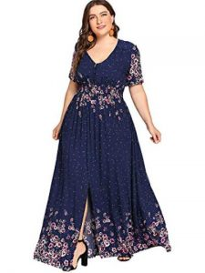Plus Sized Flowy Dress