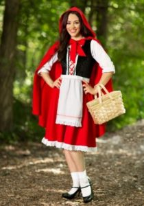 Red Riding Hood Costume For Adult