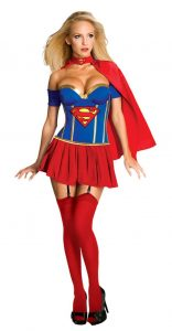 Sexy Supergirl Costume In XL