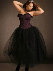 Women's Black Tulle Skirt