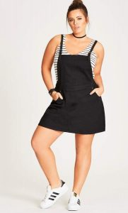 Black Pinafore Dresses
