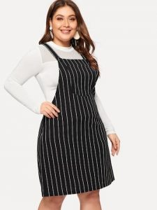 Pinafore Dress Plus Size