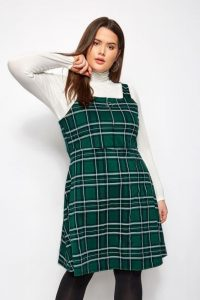 Pinafore Plus Size Dress