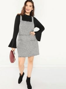 Plus Size Pinafore Dress Pattern